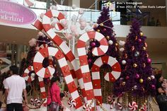 giant christmas candy - Google Search