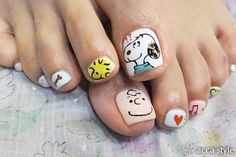 ✿★ NAILS ★✿ snoopy