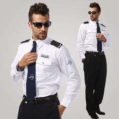 Security Uniforms, Security Guard, Housekeeping Uniform, Police Detective, Slim Shady, Men In Uniform, Work Fashion, Medical, Coat