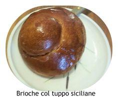 Ingredienti per 12 brioche. Per l'impasto: 250 gr di farina tipo 00, 250 gr di farina manitoba, 2 uova medie, 90 gr di zucchero semolato,...