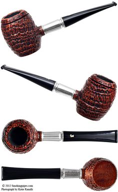 Ser Jacopo Picta Van Gogh Sandblasted Barrel (S2) (13) Pipes at Smoking Pipes .com