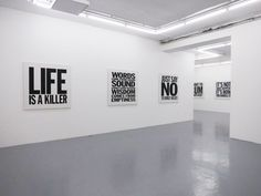John Giorno: Paintings @ Almine Rech Gallery