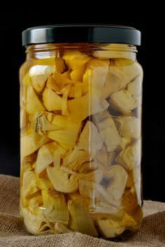 How to marinate artichokes, whether you have a lot in your garden that need to be used or just want to make your own marinated artichokes from store bought.