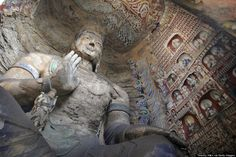 yungang http://www.huffingtonpost.com/2014/02/15/buddhist-cave-temples_n_4775101.html