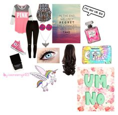 """""""Picture Day"""" by icecreamgirl123 ❤ liked on Polyvore featuring River Island, Converse, Alex and Ani and Butter London"""