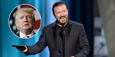 The comedian joins the long list of celebrities against Donald J. Trump. http://www.businessinsider.com/ricky-gervais-donald-trump-is-a-joke-that-got-out-of-hand-2016-10