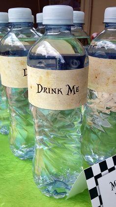 Drink Me Mineral Water Bottles