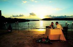 Ideas para una Cena en la Playa para el Día de San Valentín ~ Recetas Con Sabor Latino