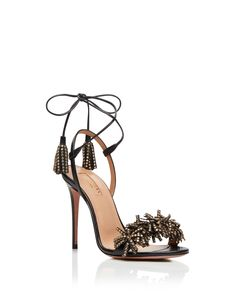 Visit the Aquazzura Official Online Store. Luxury women's footwear avalible to buy online. Stiletto Shoes, Shoes Heels, Look Fashion, Fashion Shoes, Beautiful High Heels, Shoe Art, Luxury Shoes, Types Of Shoes, Shoes Online
