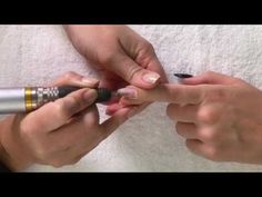 abc nailstore Tutorial: Nagelmodellagen mit der Elektrofeile entfernen