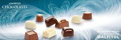 Chocolates with sweetener Maltitol. Cavalier the pioneer in no sugars added chocolate. Cavalier, Belgium, Sugar, Knight