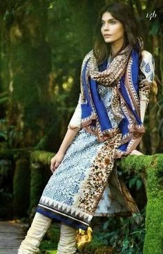 Sana Safinaz Spring Collection 2015.. My Ammie (mom) freaked out when the Sana Safinaz 2015 Spring collection came out online. I swear I thought she was going to buy them all.
