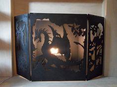 Custom made fire guard Dragon design by AdventurersEmporium, £174.99