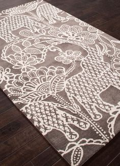 Nature Inspired Rug Gray Tan Raja Designer Elephant Rug Gray Plush Wool MoreRugger Rugger may mean: Elephant Home Decor, Elephant Theme, Elephant Room Ideas, Elephant Bathroom Decor, Elephant Decorations, Elephant Stuff, Elephant Bedding, Elephant Nursery, Bedroom Themes