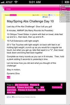 Abs day 10