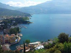Che #panorama dal #bastione di #rivadelgarda !!! Non trovate?? What a wonderful view from bastione in Riva del Garda!!! Isn't it?? Wunderschöne #Ausblick vom Bastione in Riva del Garda, oder??