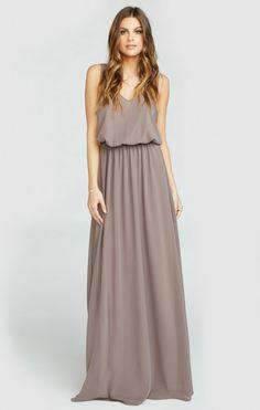 Kendall Maxi Dress ~ Dune Chiffon | Show Me Your MuMu