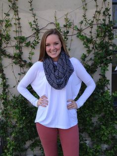 FREE SHIPPING @ Pomp and Circumstance Boutique - Aztec Infinity Scarf - Gray