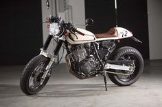 "Yamaha XT 600 Z ""Schokobohne"" by Benders"