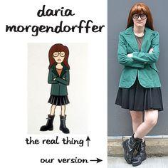 Daria #costume #DIY #Halloween
