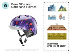 Bern Nina Nino Helmets Review - Cool Biking Kids. For summer and winter time for the smallest bikers and skaters in the family