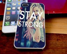 Stay Strong Demi Lovato Case For iPhone 4/4s by lestarilovecase, $14.89