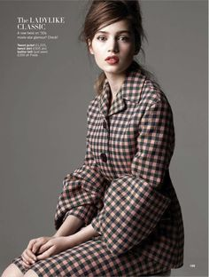 Ready, Steady, Show: Constanze Saemann By Walter Chin For Uk Glamour August 2013