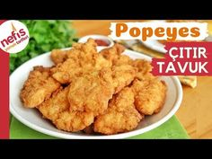 Popeyes çıtır tavuk tarifi - Popeyes'de çıtır tavuk yediyseniz sizde de bağımlılık yapmış olabilir. Bugün severek yediğimiz popeyes çıtır tavukların nasıl.. Turkish Recipes, Ethnic Recipes, Kfc, Chicken Recipes, Food And Drink, Cookies, Desserts, Tacos, Amigurumi