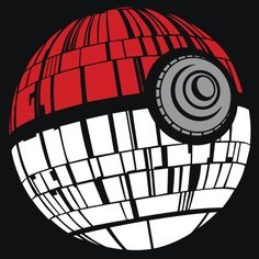 Pokeball Death Star T-Shirt More Info Behind Pokeball Death Star T-Shirt T-Shirts & Apparel - Pokeball Death Star T-Shirt Pokemon, Gotta Catch Them All, Death Star, Love Stars, Disney Star Wars, Time Travel, Star Trek, Cool T Shirts, Funny Tshirts