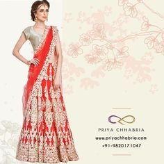 2061b80cfae Make the most of the Holi sale! Step in our store today and buy this  Lehenga for a great price. Priya Chhabria