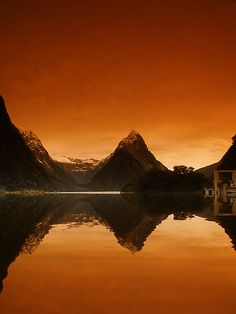 Mitre Peak, New Zealand, by David James (Mitre Peak rises sharply from the waters of Milford Sound in Fiordland National Park, New Zealand.)