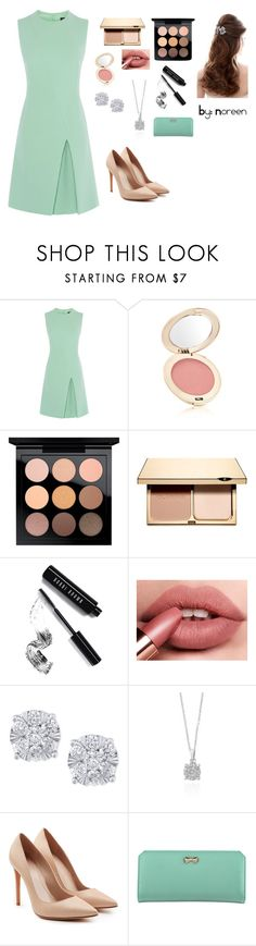 """Dinner Date"" by christinamaryb ❤ liked on Polyvore featuring Jane Iredale, MAC Cosmetics, Clarins, Bobbi Brown Cosmetics, Effy Jewelry, Alexander McQueen and Zodaca"