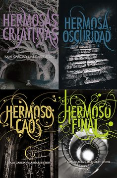 Beautiful Creatures 4 Books Collection, is an American young adult novels written by authors Kami Garcia and Margaret Stohl. Titles in This set are Beautiful Creatures, Beautiful Darkness , Beautiful Chaos and Beautiful Redemption. Ya Books, I Love Books, Good Books, Books To Read, Amazing Books, Book Of Life, The Book, Beautiful Creatures Series, Sublime Creature