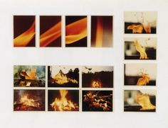gerhard richter. atlas. feuer. fire. 1968.