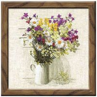 Wildflowers Counted Cross Stitch Kit