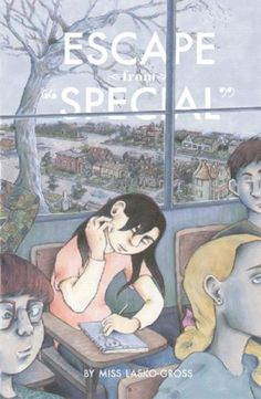 "Escape from ""Special"" by Miss Lasko-Gross  Coming-of-age story of Melissa, who we first meet as a small child and depart from at the end of the book just before she enters high school. Willful, funny, and perceptive, Melissa unsentimentally questions religion, identity formation, and treacherous female ""friendships"" as she tours with her parent's band, battles with her therapist, and bounces from school to school."