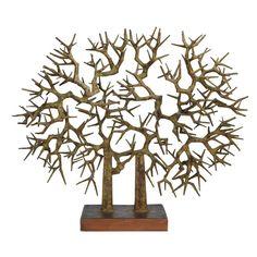 """Untitled (Tree Form)"" (mixed metal) – Satoru Abe (American, b.1926)"