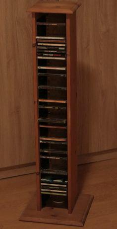 Repurposed and Reinvented CD Rack To Wine Rack_02
