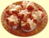Steamed Sponge Cake (Bolu Kukus) (No Emulsifier) Indonesian Desserts, Indonesian Food, Indonesian Recipes, Custard Cake, Vanilla Custard, Giant Jaffa Cake, Fluffy Eggs, Steamed Cake, Sponge Cake