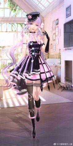 Beautiful Fantasy Art, Beautiful Dolls, Star Fashion, Girl Fashion, Nikki Love, Rapunzel, Exo Fan Art, 3d Girl, Anime Dolls