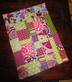 Morgan's Doll quilt- I used improved piecing.
