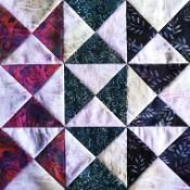 Block of the Month - August - via @Craftsy  http://quiltaddictsanonymous.com/blockofthemonth