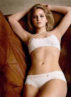 """Jennifer Lawrence says, """"This is hilarious. First, people say how so many actresses in Hollywood look anorexic, and now they are criticizing me for looking normal"""" ...The actress reportedly added that overly thin body images """"are too often adopted by young girls and women — thanks to what they are constantly being shown as being attractive."""" Love her! ..rh"""