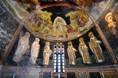 The Church of St. Savior in Chora. Known for gorgeous Byzantine mosaics.