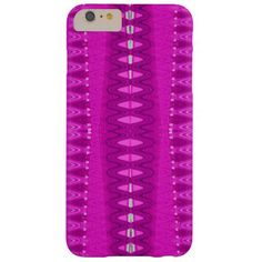 Modern Bright Pink Barely There iPhone 6 Plus Case
