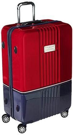 Tommy Hilfiger Duo Chrome 28 Inch Spinner Luggage, Red/Na... http://www.amazon.com/dp/B0148NDJ48/ref=cm_sw_r_pi_dp_fL4gxb11HHPKP