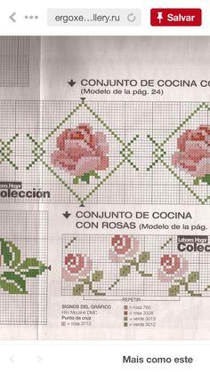 Cross Stitch Bookmarks, Cross Stitch Cards, Cross Stitch Borders, Cross Stitch Rose, Cross Stitch Flowers, Cross Stitching, Cross Stitch Embroidery, Cross Stitch Patterns, Bargello