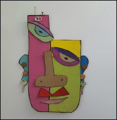MaryMaking: Abstract Cardboard Masks