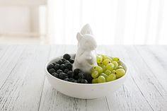 Ceramic Candy Dishes Snack Serving Bowl, Squirrel Stand Pistachio Storage, Wedding Housewarming Gift