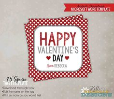 57 best Valentine\'s Day images on Pinterest | Party favor tags, Tag ...